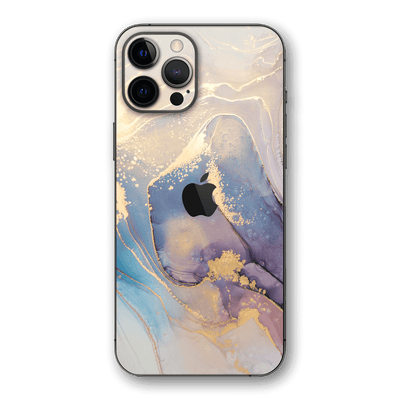 iPhone 12 Pro MAX SIGNATURE AGATE GEODE Soft Pastel Skin, Wrap, Decal, Protector, Cover by EasySkinz | EasySkinz.com