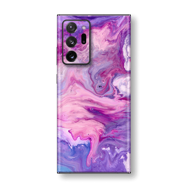 Samsung Galaxy NOTE 20 ULTRA Print Printed Custom SIGNATURE Abstract PURPLE Paint Skin Wrap Sticker Decal Cover Protector by EasySkinz