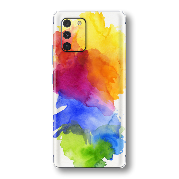 Samsung Galaxy S10 LITE Print Printed Custom SIGNATURE AQUARELLE Skin Wrap Sticker Decal Cover Protector by EasySkinz