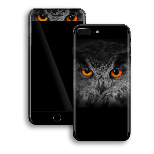 iPhone 8 PLUS Print Custom Signature OWL Skin Wrap Decal by EasySkinz