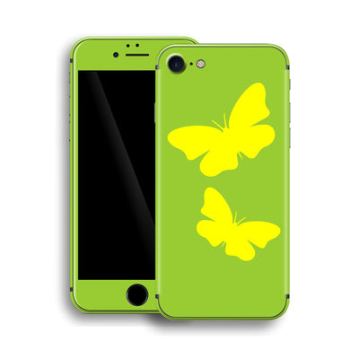 iPhone 8 BUTTERFLIES Custom Design Edition Skin Wrap Decal Protector Cover | EasySkinz