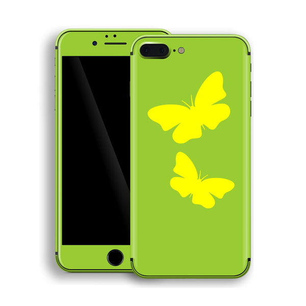 iPhone 8 Plus BUTTERFLIES Custom Design Edition Skin Wrap Decal Protector Cover | EasySkinz