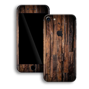iPhone 8 Print Custom Signature Wood Skin Wrap Decal by EasySkinz