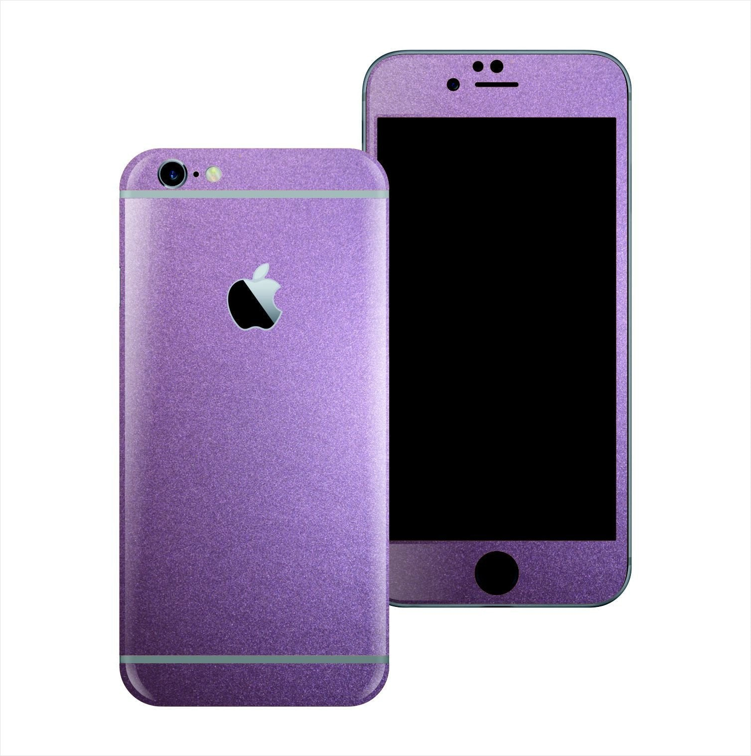 iPhone 6 Violet Matt Matte Metallic Skin Wrap Sticker Cover Protector Decal by EasySkinz