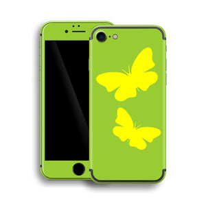 iPhone 7 BUTTERFLIES Custom Design Edition Skin Wrap Decal Protector Cover | EasySkinz