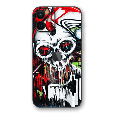 iPhone 12 SIGNATURE Graffiti Skull Skin, Wrap, Decal, Protector, Cover by EasySkinz | EasySkinz.com