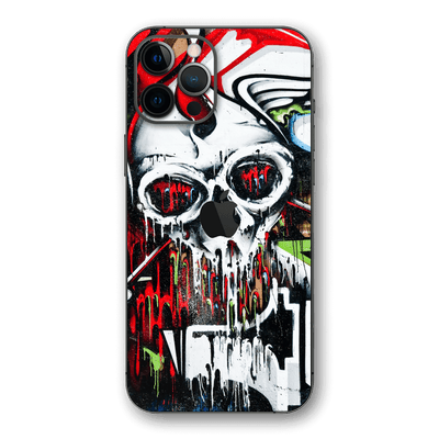 iPhone 12 Pro MAX SIGNATURE Graffiti Skull Skin, Wrap, Decal, Protector, Cover by EasySkinz | EasySkinz.com
