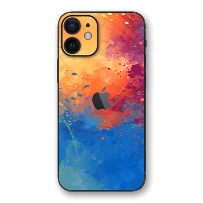 iPhone 12 mini SIGNATURE SUNSET Watercolour Skin, Wrap, Decal, Protector, Cover by EasySkinz | EasySkinz.com