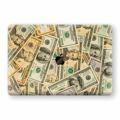 "MacBook Pro 15"" Touch Bar Print Custom Signature DOLLARS Skin Wrap Decal by EasySkinz"