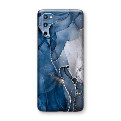 Samsung Galaxy S20 SIGNATURE AGATE GEODE Dark Blue Skin, Wrap, Decal, Protector, Cover by EasySkinz | EasySkinz.com