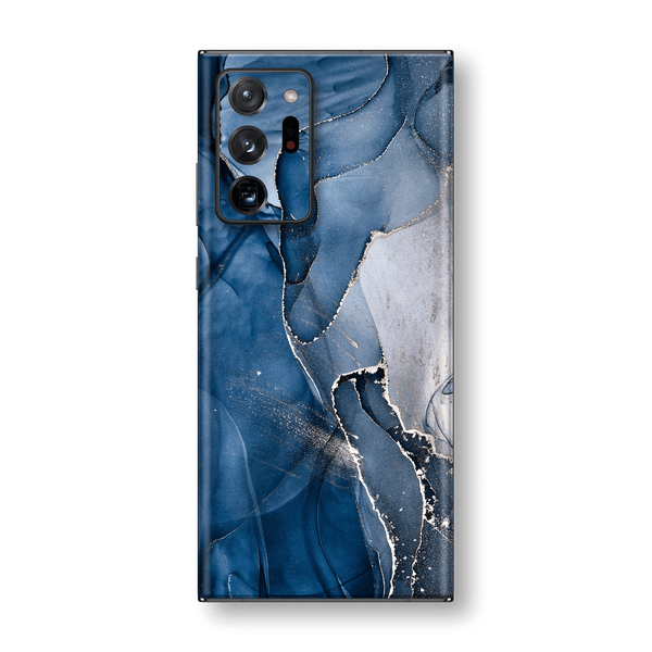 Samsung Galaxy NOTE 20 ULTRA SIGNATURE AGATE GEODE Dark Blue Skin, Wrap, Decal, Protector, Cover by EasySkinz | EasySkinz.com