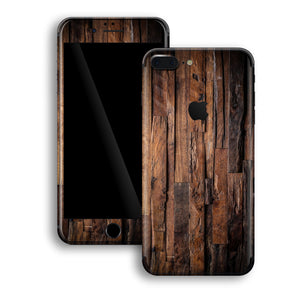 iPhone 8 PLUS Print Custom Signature Wood Wooden Skin Wrap Decal by EasySkinz