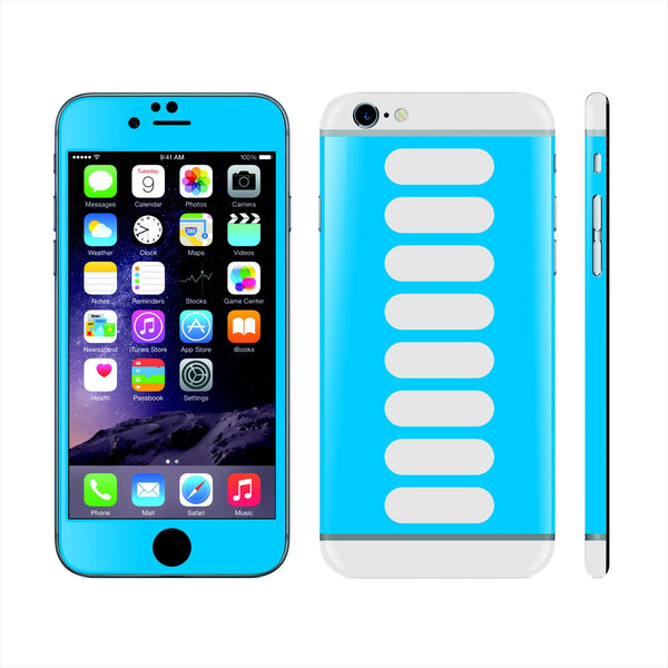 iPhone 6 Custom Colorful Design Edition Rectangles 006 Skin Wrap Sticker Cover Decal Protector by EasySkinz