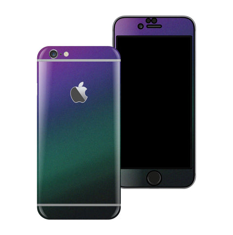iPhone 6 Plus Chameleon DARK OPAL Matt Matte Metallic Skin Wrap Sticker Cover Protector Decal by EasySkinz