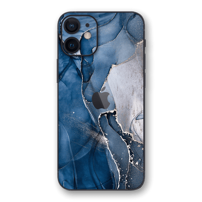 iPhone 12 SIGNATURE AGATE GEODE Dark Blue Skin, Wrap, Decal, Protector, Cover by EasySkinz | EasySkinz.com