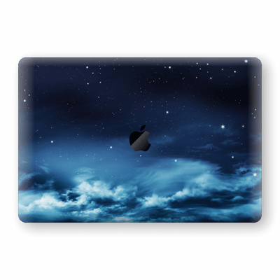 "MacBook Pro 15"" Touch Bar  Print Custom Signature Night Sky Skin Wrap Decal by EasySkinz"