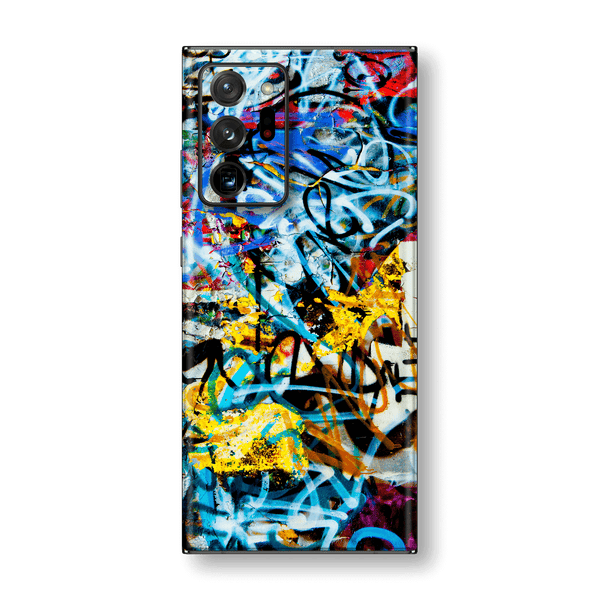 Samsung Galaxy NOTE 20 ULTRA Print Printed Custom SIGNATURE Urban Street Art Graffiti Skin Wrap Sticker Decal Cover Protector by EasySkinz