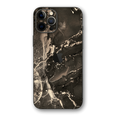 iPhone 12 PRO SIGNATURE AGATE GEODE Lunar Dust Skin, Wrap, Decal, Protector, Cover by EasySkinz | EasySkinz.com