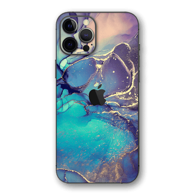 iPhone 12 PRO SIGNATURE AGATE GEODE Aurora Skin, Wrap, Decal, Protector, Cover by EasySkinz | EasySkinz.com