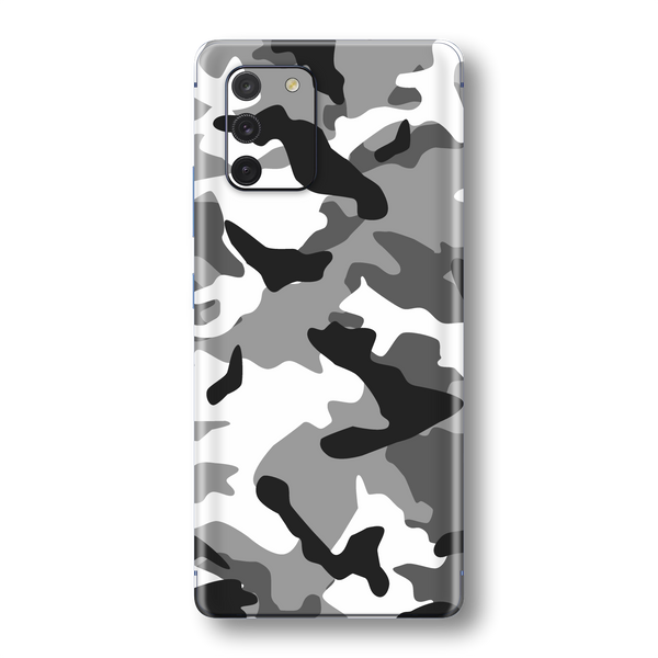 Samsung Galaxy S10 LITE Print Printed Custom SIGNATURE Camouflage GREY Skin Wrap Sticker Decal Cover Protector by EasySkinz