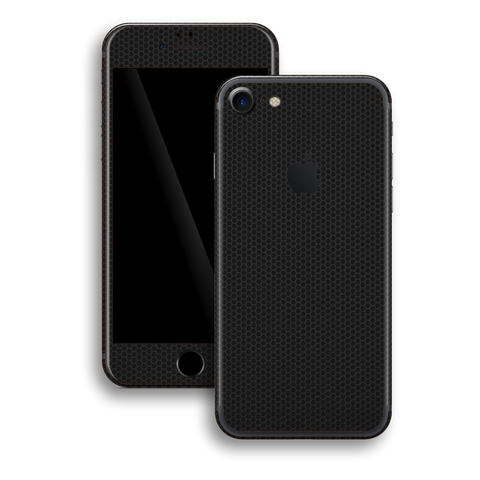 iPhone 7 Black Matrix Textured Skin Wrap Decal 3M by EasySkinz