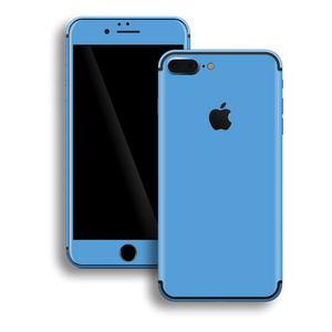 iPhone 7 Plus Gloss Glossy SKY BLUE Skin, Decal, Wrap, Protector, Cover by EasySkinz | EasySkinz.com