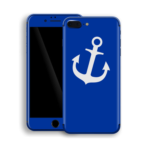 iPhone 8 Plus ANCHOR Custom Design Edition Skin Wrap Decal Protector Cover | EasySkinz