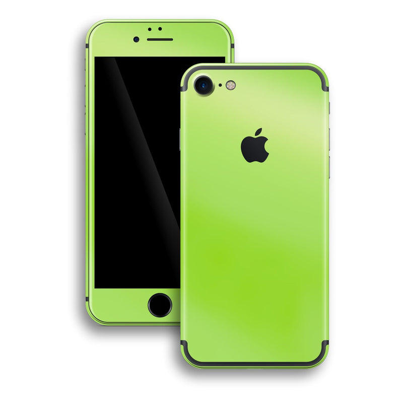 iPhone 7 Apple Green Pearl Gloss Finish Skin, Wrap, Decal, Protector, Cover by EasySkinz | EasySkinz.com