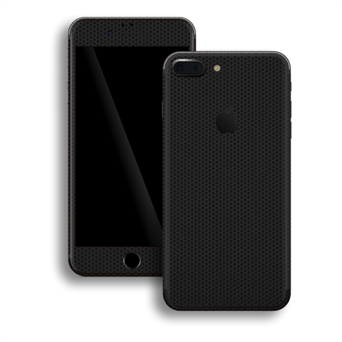 iPhone 7+ PLUS Black Matrix Textured Skin Wrap Decal 3M by EasySkinz