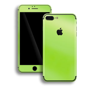 iPhone 7 Plus Apple Green Pearl Gloss Finish Skin, Decal, Wrap, Protector, Cover by EasySkinz | EasySkinz.com