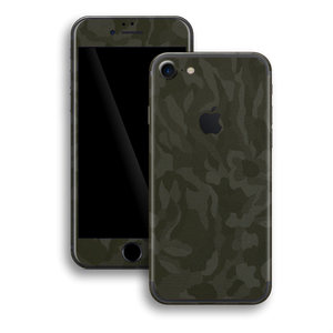 iPhone 7 Luxuria GREEN 3D Textured Camo Camouflage Skin Wrap Decal Protector | EasySkinz