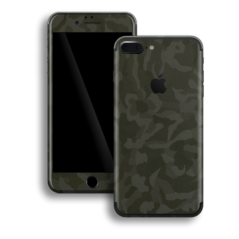 iPhone 7 PLUS Luxuria Green 3D Textured Camo Camouflage Skin Wrap Decal Protector | EasySkinz