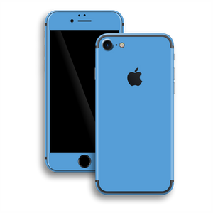 iPhone 7 Gloss Glossy SKY BLUE Skin, Wrap, Decal, Protector, Cover by EasySkinz | EasySkinz.com