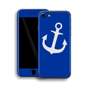 iPhone 7 ANCHOR Custom Design Edition Skin Wrap Decal Protector Cover | EasySkinz