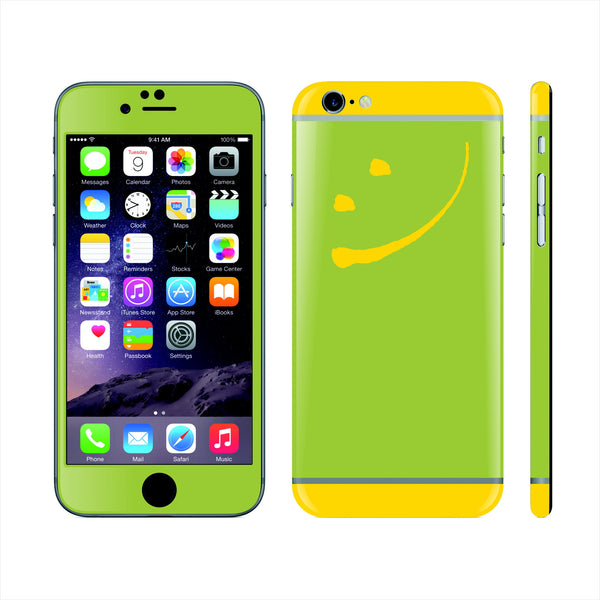 iPhone 6 Custom Colorful Design Edition Smile 007 Skin Wrap Sticker Cover Decal Protector by EasySkinz