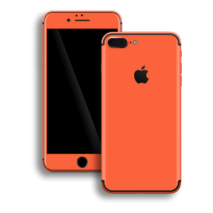 iPhone 7 Plus Gloss Glossy CORAL Skin, Decal, Wrap, Protector, Cover by EasySkinz | EasySkinz.com