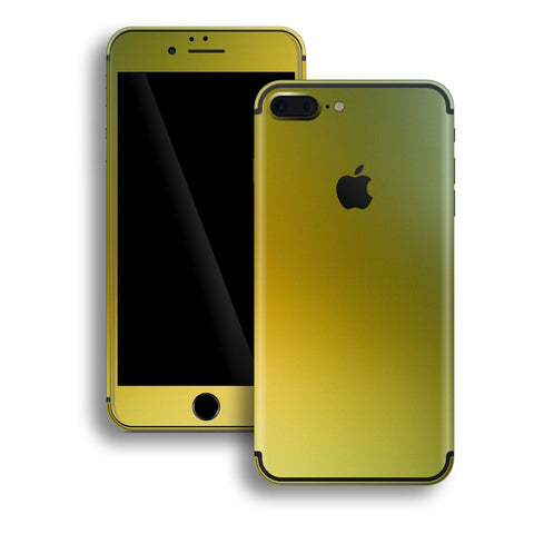 iPhone 7 Plus Chameleon NEPHRITE-GOLD Colour-Changing Skin, Decal, Wrap, Protector, Cover by EasySkinz | EasySkinz.com