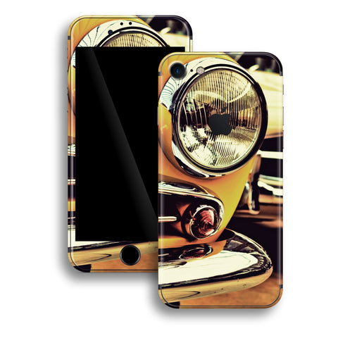iPhone 8 Print Custom Signature NY TAXI New York Taxi Retro Car Skin Wrap Decal by EasySkinz