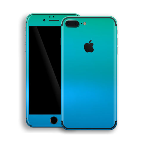 iPhone 7 Plus Chameleon Caribbean Colour-Changing Skin, Decal, Wrap, Protector, Cover by EasySkinz | EasySkinz.com