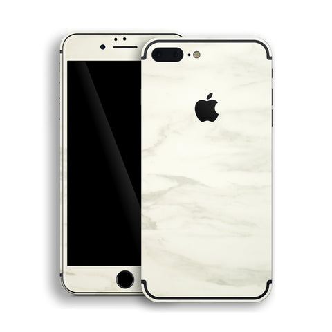 iPhone 7 PLUS Luxuria White MARBLE Skin Wrap Decal Protector | EasySkinz