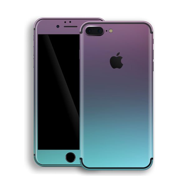 iPhone 7 Plus Chameleon Turquoise Lavender Colour-Changing Skin, Decal, Wrap, Protector, Cover by EasySkinz | EasySkinz.com