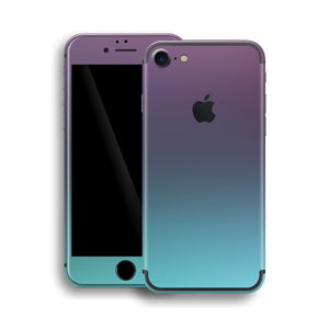 iPhone 7 Chameleon Turquoise Lavender Colour-changing Skin, Wrap, Decal, Protector, Cover by EasySkinz | EasySkinz.com
