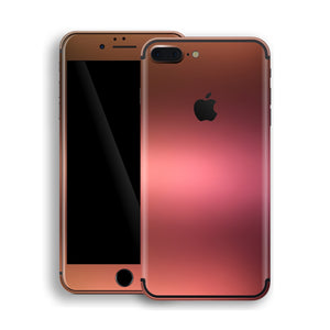 21105242ba9c4 iPhone 8 Plus Chameleon Aubergine Bronze Colour-Changing Skin, Decal, Wrap,  Protector