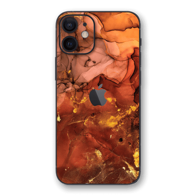 iPhone 12 SIGNATURE AGATE GEODE Flaming Nebula Skin, Wrap, Decal, Protector, Cover by EasySkinz | EasySkinz.com