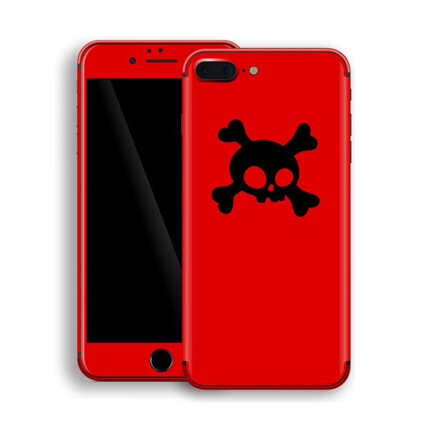 iPhone 8 Plus Skull Custom Design Skin, Wrap, Decal, Protector, Cover by EasySkinz | EasySkinz.com