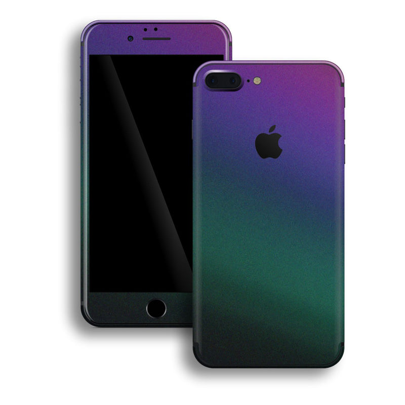 iPhone 8 Plus Chameleon DARK OPAL Colour-Changing Skin, Decal, Wrap, Protector, Cover by EasySkinz | EasySkinz.com