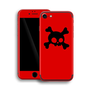 iPhone 7 Skull Custom Design Skin, Wrap, Decal, Protector, Cover by EasySkinz | EasySkinz.com