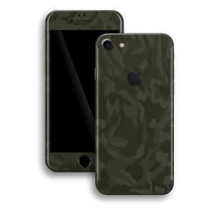 iPhone 8 Luxuria Green 3D Textured Camo Camouflage Skin Wrap Decal Protector | EasySkinz