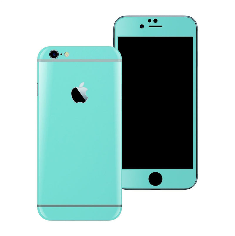 iPhone 6S Mint Matt Matte Skin Wrap Sticker Cover Protector Decal by EasySkinz