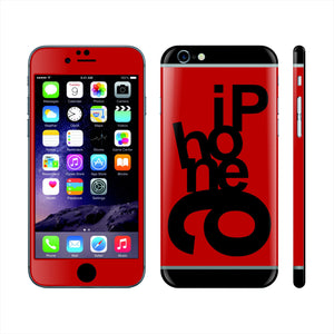 iPhone 6 Plus Custom Colorful Design Edition Mixed Letters 008 Skin Wrap Sticker Cover Decal Protector by EasySkinz